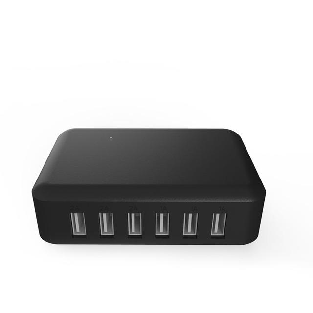 Multi-portas (4 portas/6 portas) pente 5 V 2A poder carregador USB splitter carregador aplicável hub para Samsung/Iphone/xiaomi/digital do produto
