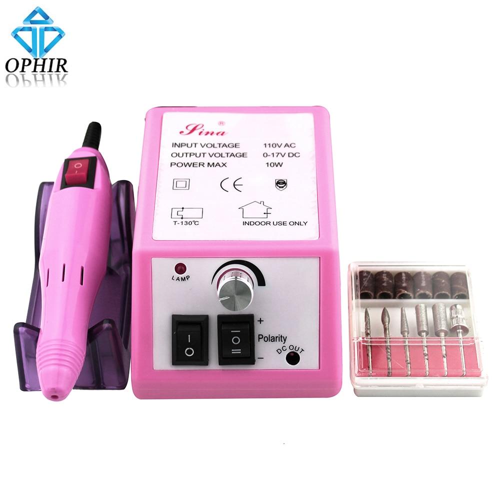 OPHIR Nail Tools Electric Nail Drill Machine 20000RPM Manicure Drill ...