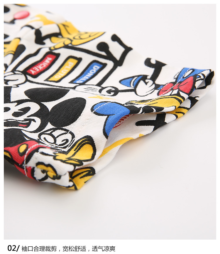 HTB1KnjZKFzqK1RjSZSgq6ApAVXab - Disney children's clothes boys T-shIrt dress knitted Short-sleeve tshirt 2019 Summer Mickey fashion pure cotton camiseta t shirt