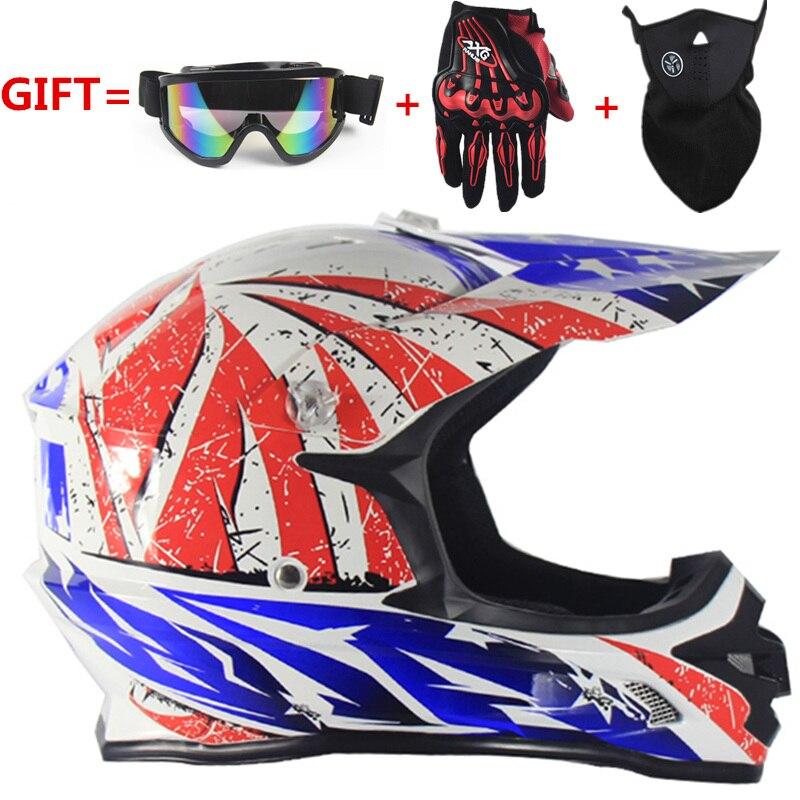 car styling Off Road motorcycle Adult motocross light Helmet ATV Dirt bike Downhill MTB DH racing cross Helmet capacetes moto