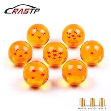 RASTP-pomo de cambio de marchas de Bola de Dragón recién llegado 57mm de diámetro 1-7 estrellas de acrílico para el RS-SFN042 Universal del coche