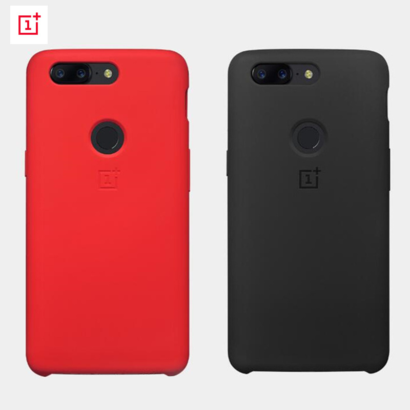 oneplus 5t silicone protective case cover original genuine red black one plus 5t phone case tpu. Black Bedroom Furniture Sets. Home Design Ideas