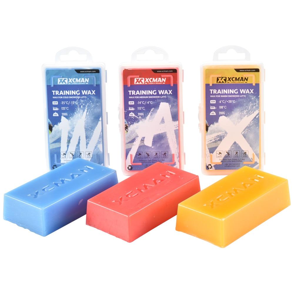 XCMAN Racing Ski Snowboard Wax para usar en cualquier tipo de nieve All Temperature Wax Kit 100g y 200g para su elección