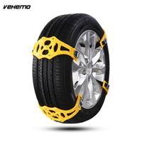 Vehemo TPU Snow Tire Belt Snow Chain Easy Installation Anti Skid Chains Thickened Universal Mud Wheel