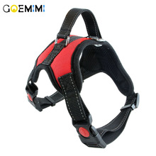 New Arrival Pets Dog Harness Vest Reflective Tape Breathable Mesh Outdoor Large Nylon Adventure Collar