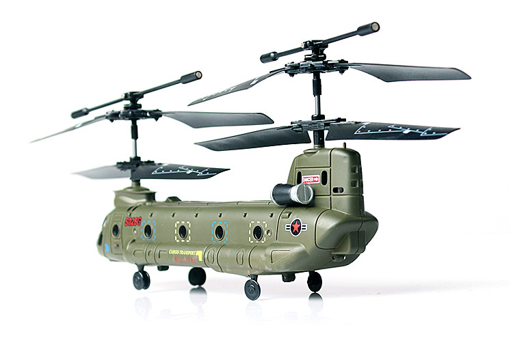 High Quality Toys S026G Chinook Drone Helicopter Drone Ship Model of He Simulation блесна daiwa chinook s g 17 г
