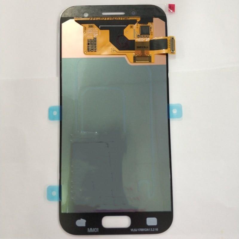 Pour Samsung Galaxy A3 2017 A320 LCD écran tactile numériseur avec cadre assemblée remplacer 100% testé