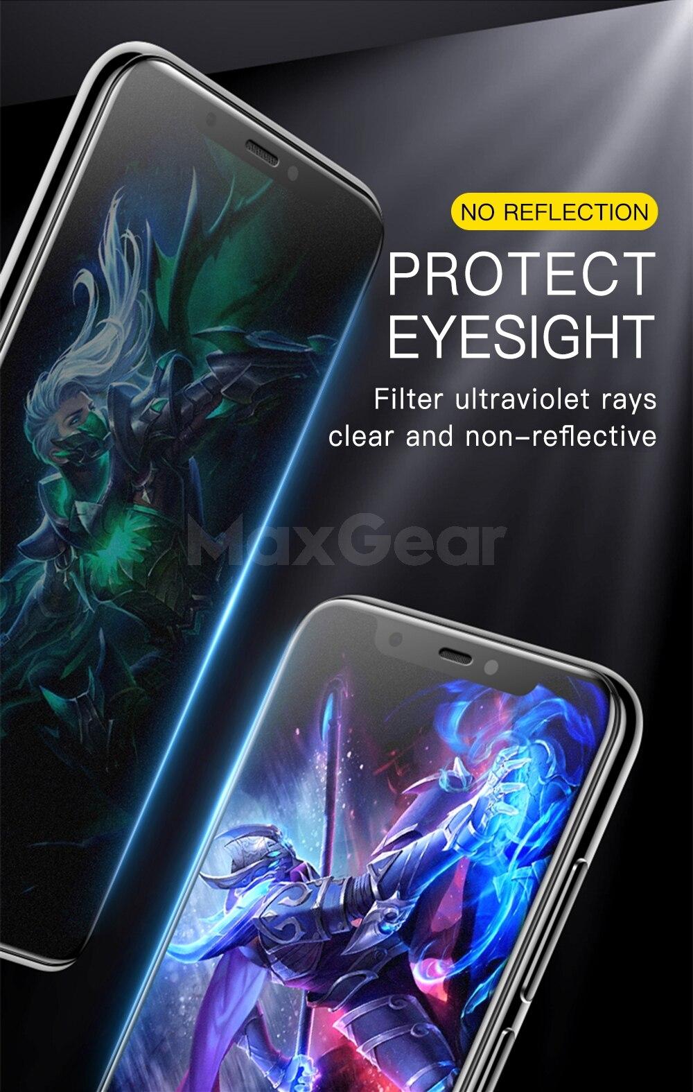 9D matowy matowe szkło hartowane dla Xiao mi mi 9 8 SE A2 Lite 5X 6X Pocophone F1 mi x 2 S mi x3 pełna pokrywa folia ochronna na ekran 12