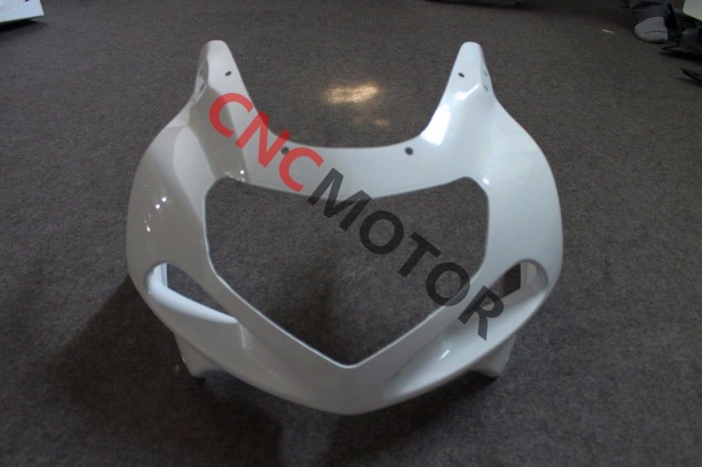 ABS Plastic Front Cowl Nose Upper Fairing Kit for Suzuki GSXR1000 GSX-R1000 2000 2001 2002 Unpainted unpainted abs plastic front upper cowl nose fairing bodywork for yamaha yzf r6 r600 1998 2002 1999 2000 2001