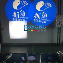 Chinese Wholesaler Portable Mobile Promotions Advertising Street Sign Gobo Light Projectors 20W LED Waterproof IP65, 2PCS/LOT