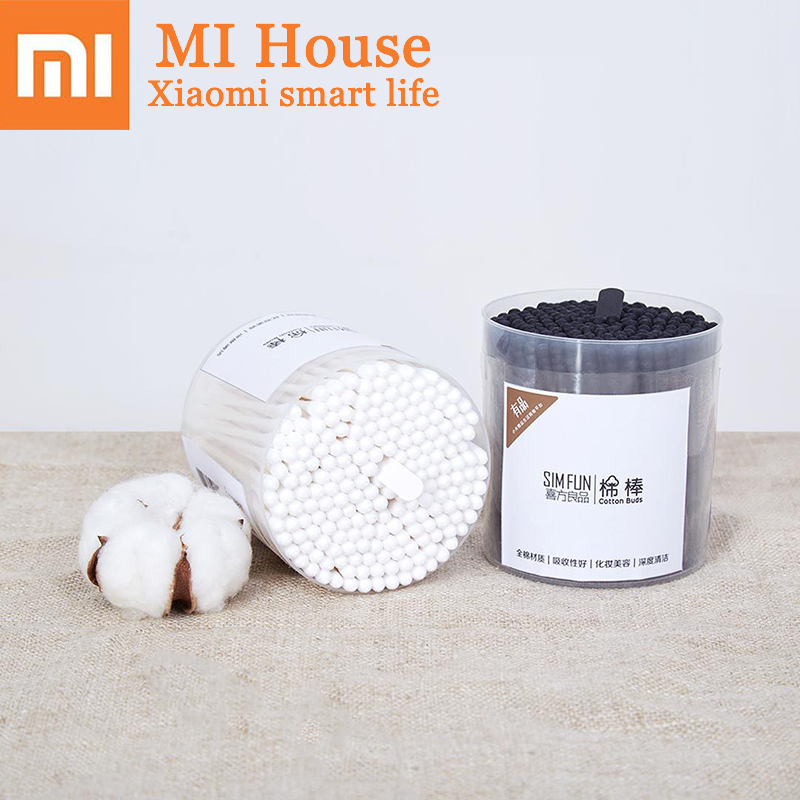 Xiaomi Simfun Cotton Tipped Applicators Cotton Buds Cotton Swabs Medical Ear Cleaning Wood Sticks Makeup Tampons Cosmetic TipsXiaomi Simfun Cotton Tipped Applicators Cotton Buds Cotton Swabs Medical Ear Cleaning Wood Sticks Makeup Tampons Cosmetic Tips