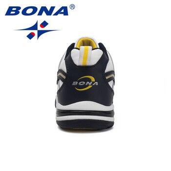 Zapatos De Cuero Para Hombres | Nueva Llegada De BONA Zapatos De Tenis Clásicos Para Hombre, Zapatos Deportivos Para Hombre, Zapatos Deportivos Para Correr Al Aire Libre, Zapatillas De Deporte Cómodas
