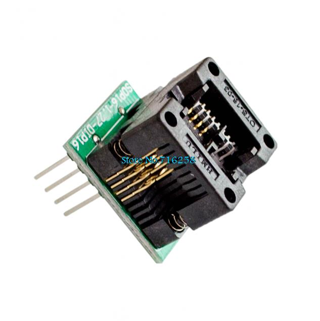 Smart Electronics 150mil Socket Converter Module SOIC8 SOP8 to DIP8 EZ Programmer Adapter