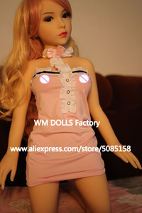 Image 5 - WM DOLLS Top quality 100cm small breasts Anime Silicone Sex Dolls Metal Skeleton full Size Lifelike vagina love dolls for men