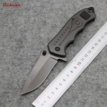 Dcbear New Tactical Survival Folding Knife 5CR13MOV Blade High Quality Outdoor Knife Pocket Tool with Hardness 58HRC