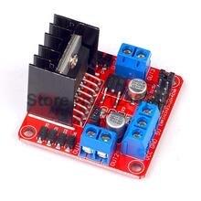 10PCS/LOT L298N 100% New Dual H Bridge DC Stepper Motor Drive Controller Board Module for Arduino