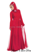 MZY505 long a-line dress long sleeve zip back satin tulle pleated hijab muslim wedding dress