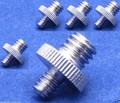 1/4 Male Threaded to 3/8 Male Threaded Double Male Screw Adapter for Camera universal