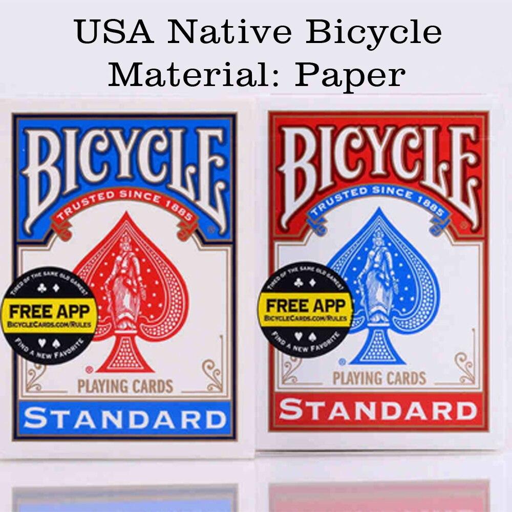Original-Bicycle-Poker-1-pcs-Blue-or-Red-Regular-Bicycle-Playing-Cards-Rider-Back-Standard-Decks-Magic-Trick-Free-Shipping-2