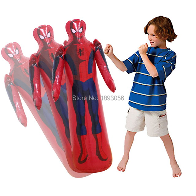 Air Pump Gift Kid Gloves Punching Bag Stand Tower Inflatable Ball Sd