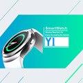 Smartwatch Bluetooth Heart Rate Monitor de IPS Tela Redonda Cartão SIM Suporte Android e IOS Telefone