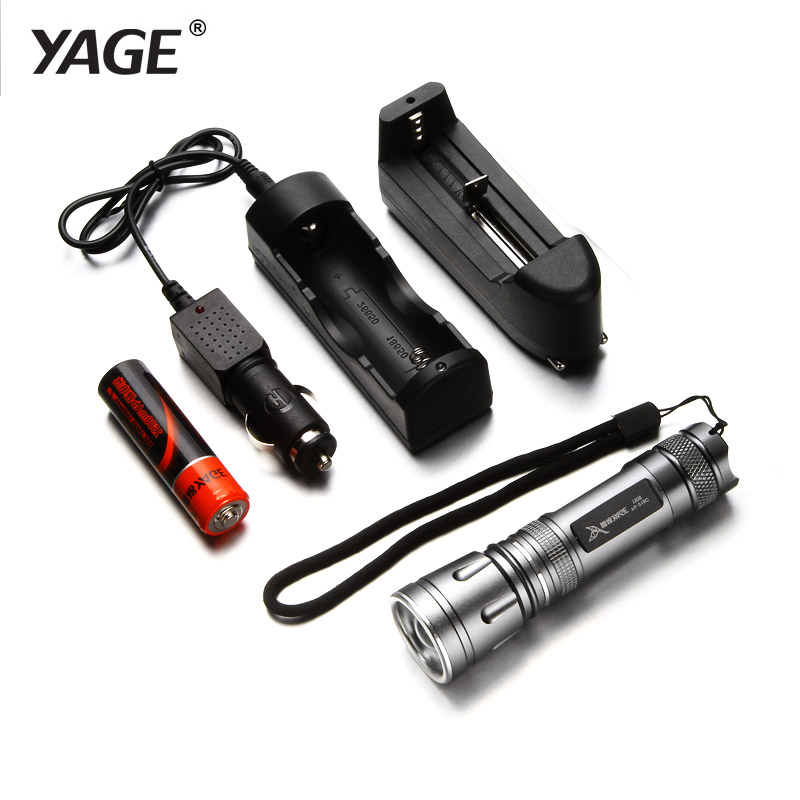 yage cree flashlight mini flashlight telescopic zoomable. Black Bedroom Furniture Sets. Home Design Ideas