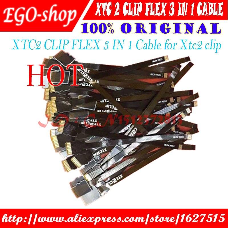 Gsmjustoncct XTC2 CLIP FLEX  3 IN 1 Cable