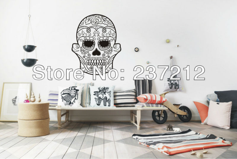 Online Get Cheap Skull Bedroom Decor Aliexpresscom Alibaba Group