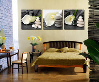 2015 Picture Noble tulip and stone 3 Hot Sell Modern Wall Painting Landscape Home Decorative Art Picture Paint on Canvas Prints