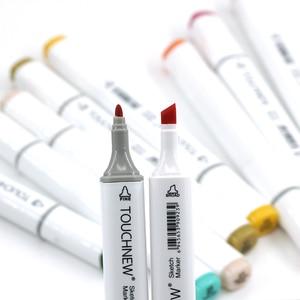 Image 2 - TOUCHNEW rotuladores artísticos de doble punta, marcadores de boceto de arte a base de Alcohol, pluma de dibujo, plumas de diseño, 40/60/80/168 colores