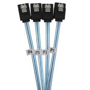 Image 4 - Tốc Độ Cao 6Gbps SAS Cáp SATA 3 Cáp SATA III Chất Lượng Cao Dành Cho Máy Chủ HDD SSD 1M