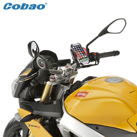 Universal Scooter Motorcycle Phone Holder Cobao Brand Bicycle Mount Holder Suitable For Iphone 5s 6 6s