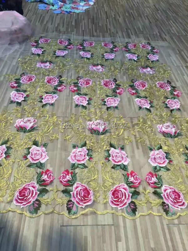 Last flower Stop118 Fabric