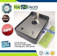 GSM community security alarm system audio intercom alarm emergency help calling phone service intercom