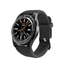 Купить с кэшбэком Ordro G8 SIM Smart Watch Man Bluetooth Call Message Reminder Heart Rate Monitor With Whatsapp Facebook Bluetooth 1.39inch