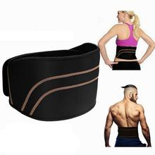 1 Pc Waist Support Lumbar Corset Belt Elastic Breathable Brace Sport Safety Posture Back