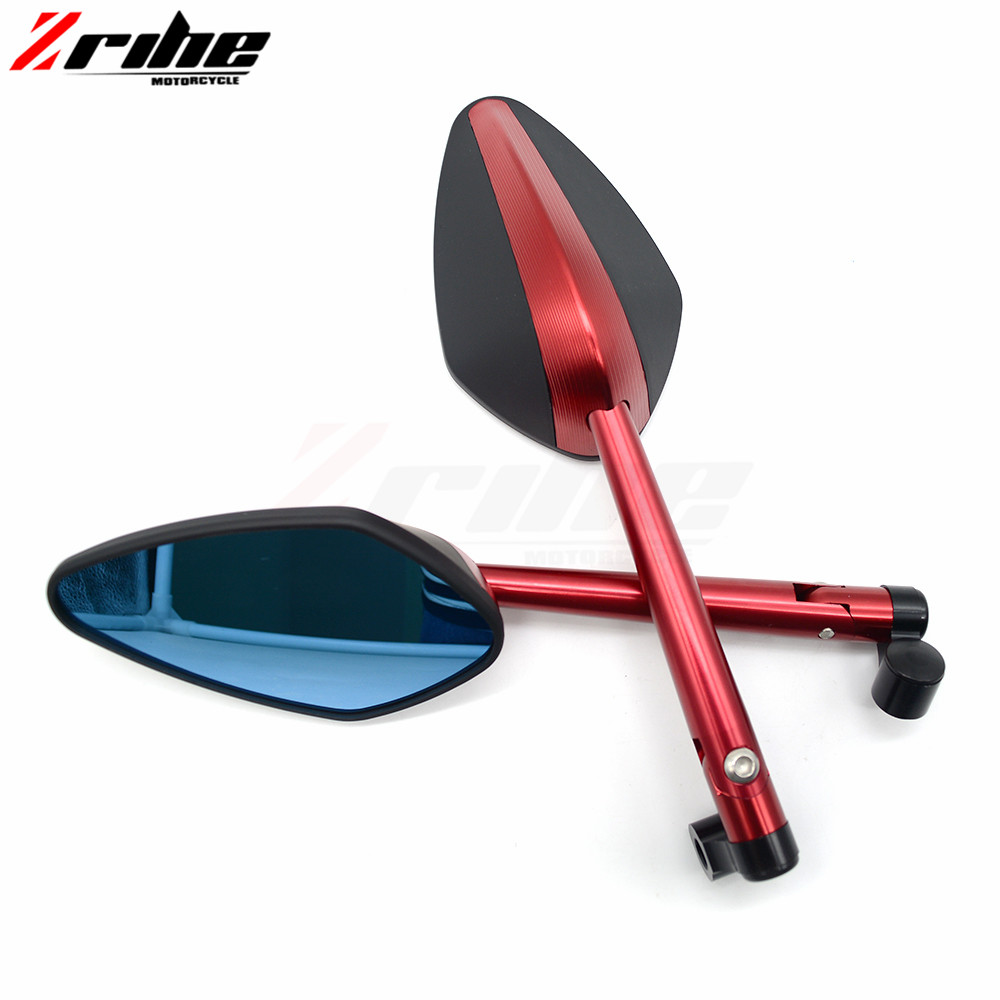 for 1Pair Universal Motorcycle CNC Aluminium Backup Rearview Mirrors accessories mirror For BMW K1600 K 1200 1300 S/R/GT R1200R/