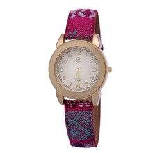2015 New Bohemia Vintage Women Watch Fashion Leather Sport Quartz Watch Cartoon Ladies Dress Watches Brass Clock Relojes Mujer
