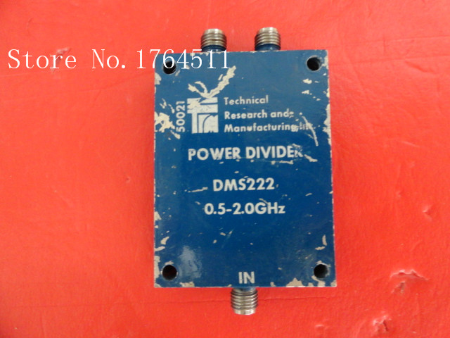 [BELLA] TRM DMS222 0.5-2GHz A Two Supply Power Divider SMA