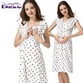 Emoción Mamás ropa de maternidad de maternidad Del Verano vestidos vestido de enfermería Lactancia Vestidos para Las Mujeres Embarazadas