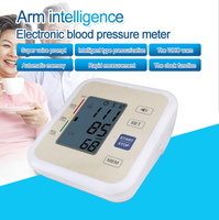 Voice broadcast Automatic Arm style Sphygmomanometer Family Personal Health Care Tool Digital electronic Blood Pressure Monitor