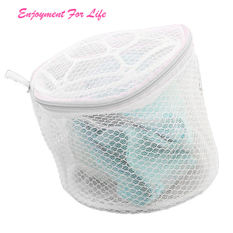 New Lingerie Underwear Bra Nice Sock Laundry Washing Aid Net Mesh High Quality Zip Bag Rose Wholesale Free Shipping 3D19