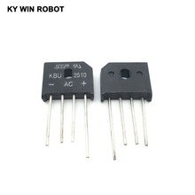 5PCS 25A 1000V diode bridge rectifier KBU2510