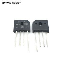 5PCS 25A 1000V diode bridge rectifier KBU2510