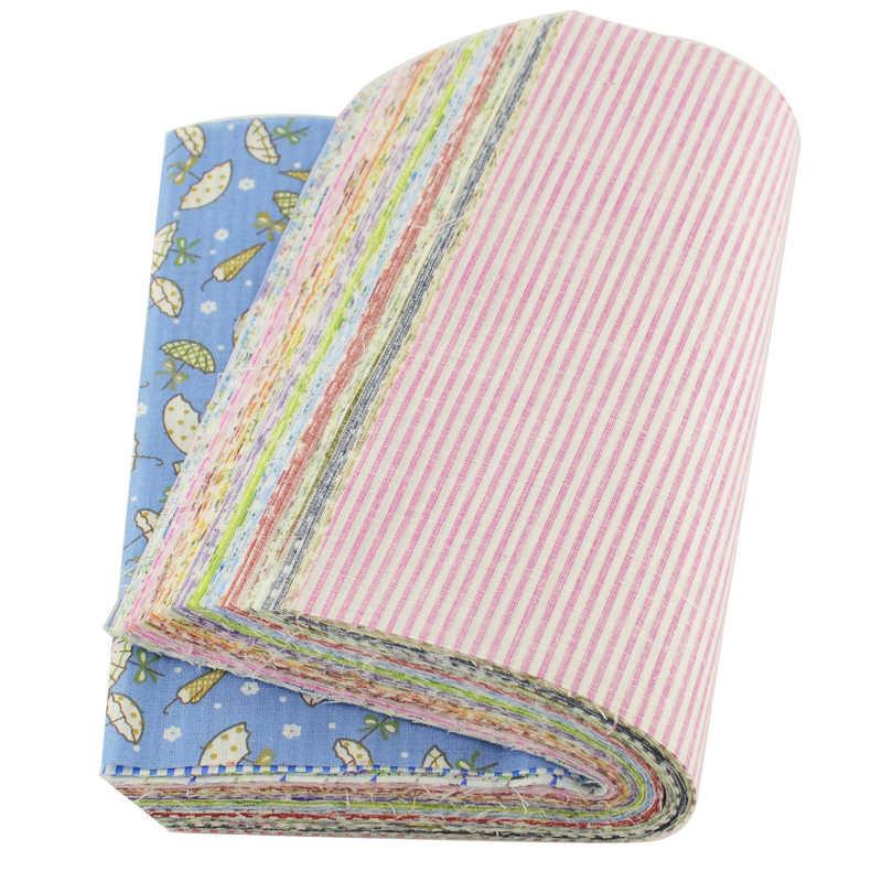 Disegno del fiore Quilting Tessuto Tissu Patchwork Cucito per Tecido Tilde Del Tessuto 100% Del Tessuto di Cotone 80 pz/lotto 20*24 centimetri scrapbooking