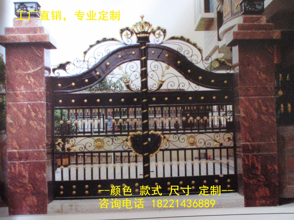 Hench 100% Hot Dip Galvanized Steel Iron Gates  Model Hc-ig14