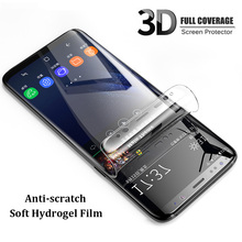 Hydrogel Film Full For Samsung Galaxy S9 S8 A8 Plus S7 Edge Soft Screen Protector For Samsung Note 9 8 A9 Star Lite Not Glass S