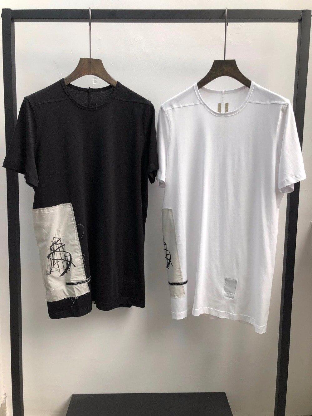 Camiseta Casual de hombres de seak de 100% algodón estilo gótico Tops ropa de hombre Tops de gran tamaño camisetas de verano para mujeres blanco T camisa-in Camisetas from Ropa de hombre    1
