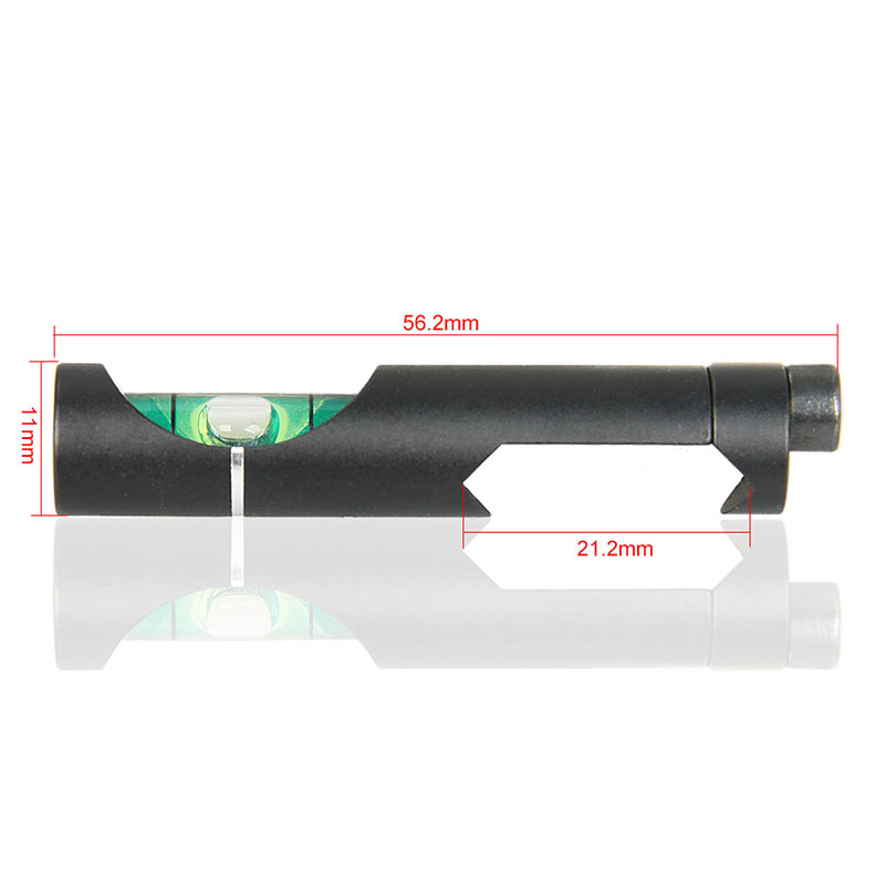 Bubble Spirit-Level Alloy Weave/picatinny-On Tactical/airgun-Scope Sight-Rail Hunting-Gun