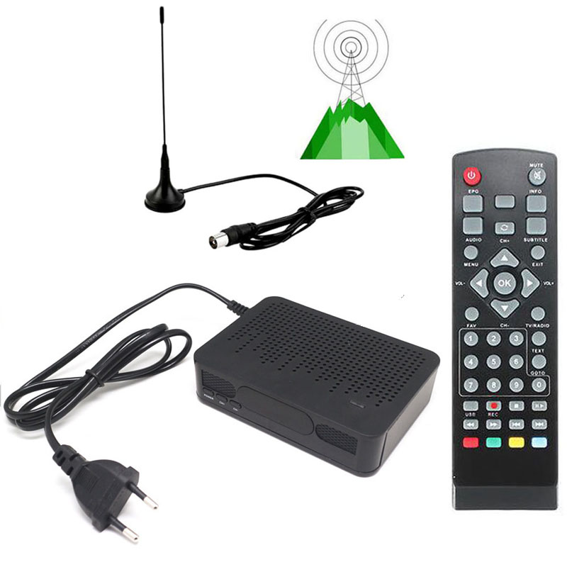 buy msd7t01 dvb t2 dvb t fta hd digital terrestrial convertor tuner tv receiver. Black Bedroom Furniture Sets. Home Design Ideas